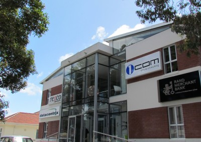 Fabricator Aluminium Always Project-Office Building Cape Rd-Crealco Clip38 Flush Glazing