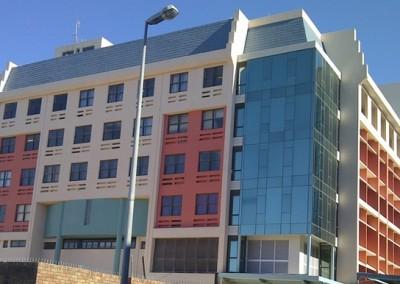Qhasana Building-Jowil Aluminium Trust-Clip38 Flush Glaze