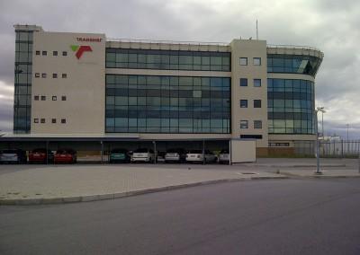Transnet Terminal Building – Jowil Aluminium Trust – CW50 Curtain Wall (Pressure glaze) (2)